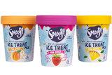 Smoofl ice-cream mix Ananas_