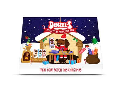 Denzel's Kerst box