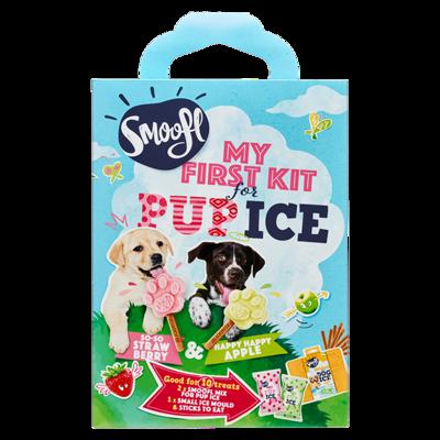 Smoofl Puppy kit  met de smaken Aardbei & Appel