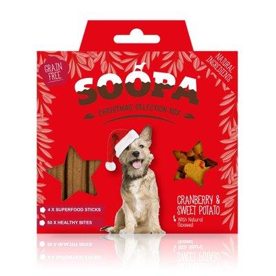 Soopa - Kerst box - Cranberry & Sweet Potato