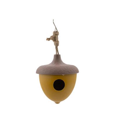Liv - vogelhuisje - Eikel - Okergeel