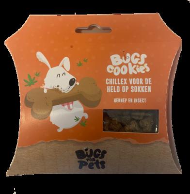 BugsforPets - Bugs Cookies - Chillex voor de held op sokken