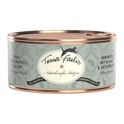 Terra Faelis Klassiek Menu 100 gr - Konijn met broccoli & kattenkruid