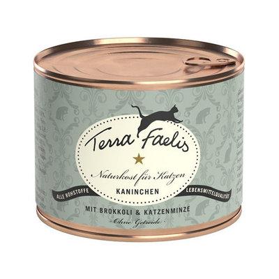 Terra Faelis Klassiek Menu 200 gr - Konijn met broccoli & kattenkruid