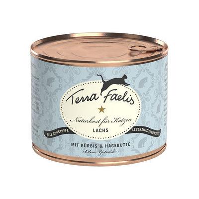 Terra Faelis Klassiek Menu 200 gr - Zalm met pompoen & rozenbottel