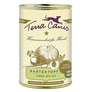 Terra Canis Groente & Fruit Menu 400 gr - Tuinpotje Classic