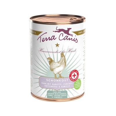 Terra Canis Eerste Hulp 400 gr - Kip met wortel, venkel, cottage cheese & kamille
