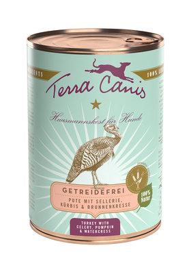 Terra Canis Kalkoen met Selderij, Pompoen & Waterkers