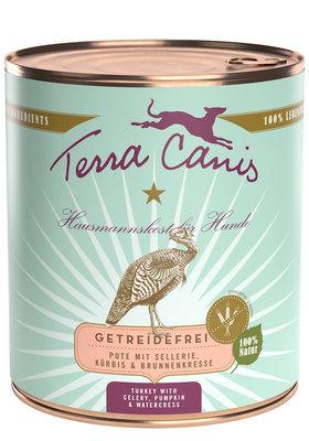Terra Canis Kalkoen met selderij, pompoen en waterkers 800gr