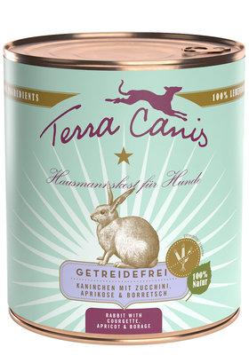 Terra Canis Konijn met courgette, abrikoos & komkommerkruid  800gr