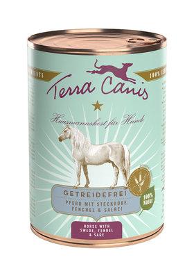 Terra Canis graanvrij menu Paard met koolraap, venkel & Salie