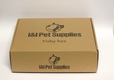 I&I Pet Supplies Fishy box LIMITED EDITION