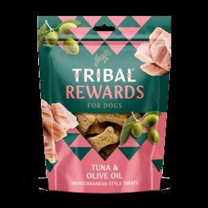Tribal cookies tonijn en olijfolie