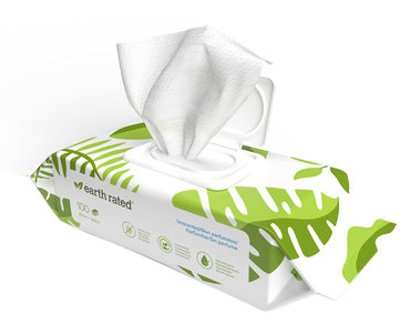Earth Rated Dog Wipes Lavendel
