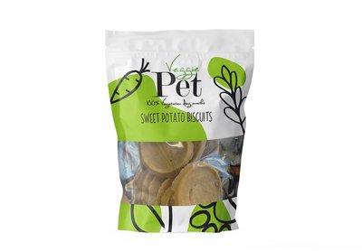 Veggie Pet Groene Zoete aardappel Biscuits